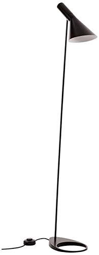 Postmodernes Design AJ Stehleuchte, E14 LED Wohnzimmer Vertikale Lampe, Schwarze Metallhalterung Lampe, Geeignet Für Innenbeleuchtung Schlafzimmer Studie Lampe