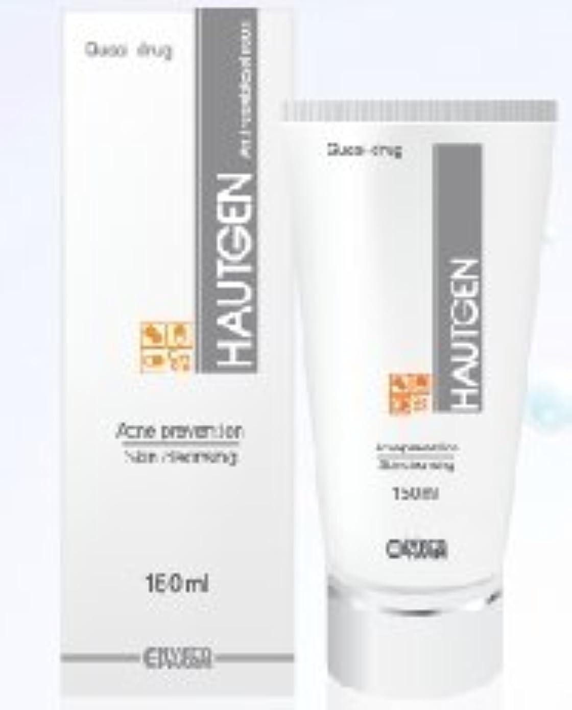 アレンジ船酔いそれにもかかわらず?ニキビ予防 + 皮膚清潔を同時に?HAUTGEN ハウトゲン フォーム クリーム 150ml. Hautgen Foam Cream 150m.