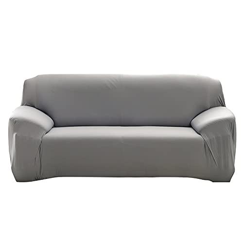 WXQY Einfarbige Schonbezüge elastische Dehnung rutschfeste Sofabezug Haustier Sofabezug L-förmige Ecke rutschfeste Sofabezug A17 1-Sitzer