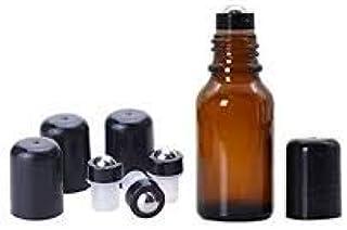Enchimentos de rolo de óleo essencial para garrafas de óleo essencial de 5 e 15 ml. Aço inoxidável à prova de vazamento co...
