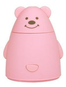 fumetto creativo dell'orso USB camera da letto ad ultrasuoni umidificatore mini-auto purificatore d'aria ufficio , amazing bear - pink