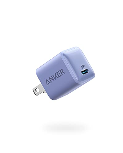 USB C Charger, Anker Nano Charger PIQ 3.0 Durable Compact Fast Charger, PowerPort III for iPhone 12/12 Mini/12 Pro/12 Pro Max/11, Galaxy, Pixel 4/3, iPad Pro (Cable Not Included)