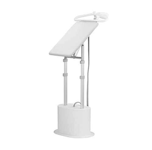 WXLBHD Garment Steamer, Garment Steamer with Ironing Board and Hanger, 2 L Water Capacity, 2200W, White