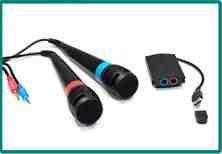 Singstar - Juego de 2 micrófonos inalámbricos para...