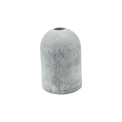 Kit de portalámparas E27 de cemento (acabado crudo)