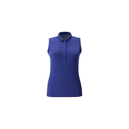 Chervo AGA Golf Polo da donna, 40, blu scuro