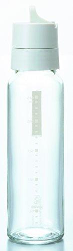 HARIO(ハリオ)ワンタッチドレッシングボトル240mlペールグレーODB-240-PGR径5.5×高さ21.7cm、口径3.7cmHRO32434