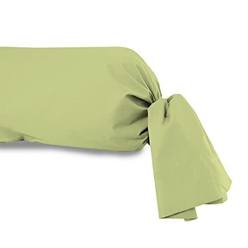 Soleil d'Ocre - Funda de Almohada (algodón, 45 x 135 cm), Color Verde