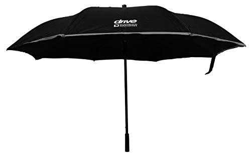 Drive Paraplu Reverse voor rollators zwart