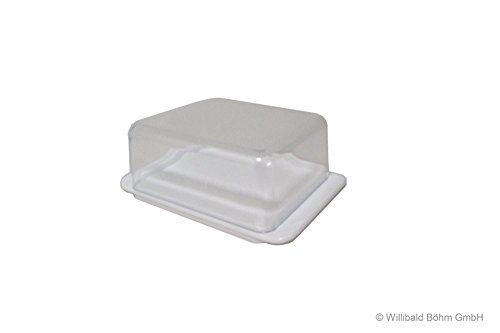 Butterdose weiß - Sonja-PLASTIC - Made in Germany