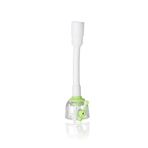 UPKOCH Wasserhahndüsenadapter Wassersparender Hahndüsensprühanschluss Wasserhahnverlängerungsaufsatz für zu Hause (Grün)