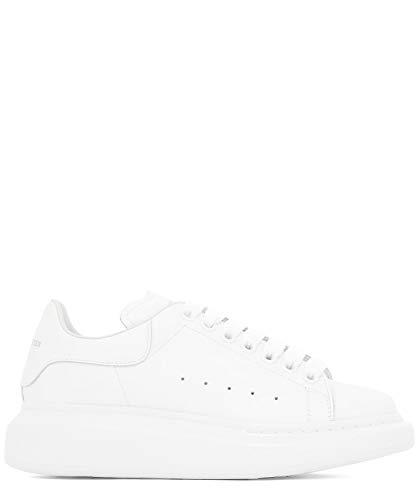 Alexander McQueen Luxury Fashion Damen 553770WHGP09000 Weiss Leder Sneakers | Jahreszeit Permanent