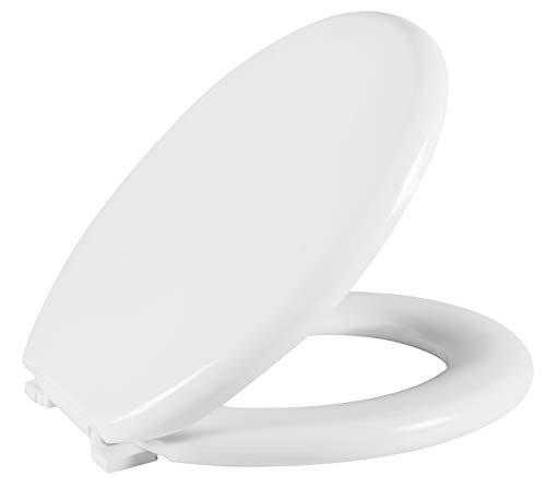 Assento Sanitário Almofadado Perfumado, Astra, Branco