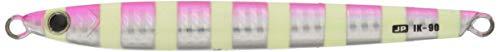 【18%OFF】メジャークラフトルアーメタルジグジグパラバーチカルイカナゴ90g#26ゼブラピンクJPVIK-90
