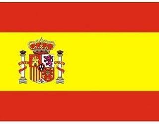 Yuan Bandera Oficial de España de Poliester 150 x 90 cm.: Amazon.es: Deportes y aire libre