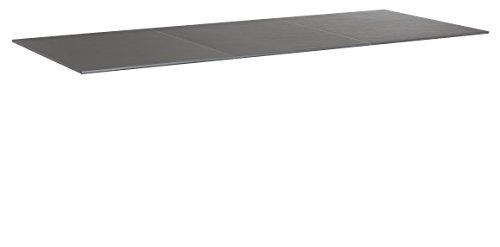 KETTLER Advantage Esstische Kettalux Plus Tischplatte 220 x 95 cm Schieferoptik, schwarz