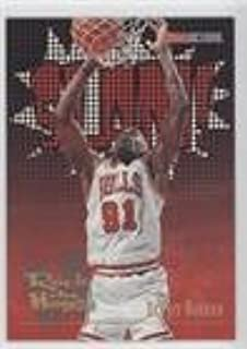 Dennis Rodman (Basketball Card) 1995-96 NBA Hoops - [Base] #376