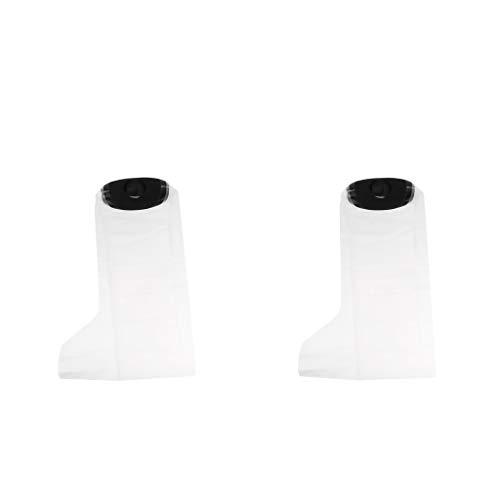 IPOTCH 2X Gipsschutz Wasserdicht Wasserdichter Bein, Duschüberzug Fuß Beinschutz für das Halbe Bein beim Baden