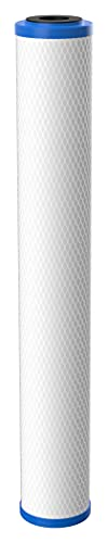 Pentair Pentek EP-20 Carbon Water Filter, 20-Inch, Whole House Carbon Block Replacement Cartridge with Bonded Powdered Activated Carbon (PAC) Filter, 20' x 2.5', 5 Micron