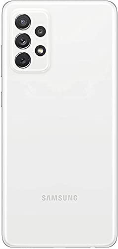 Samsung Galaxy A72 Smartphone, Display Infinity-O FHD+ da 6,7 pollici, 6 GB RAM e 128 GB di memoria interna espandibile, Batteria 5.000 mAh e ricarica Ultra-Rapida White [Versione Italiana]