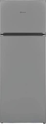 Bauknecht KDA 1420 S 2 Doppeltürer Kühl-/Gefrierkombination/ 213 L Gesamtnutzinhalt / Abtauautomatik im Kühlteil / 1 Obst- und Gemüseschublade, Silber