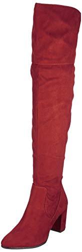 MARCO TOZZI Damen 2-2-25519-33 Overknees, Rot (Chianti 503), 36 EU