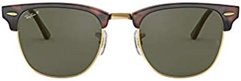 Ray-Ban RB3016F Clubmaster Asian Fit Square Men's Sunglasses