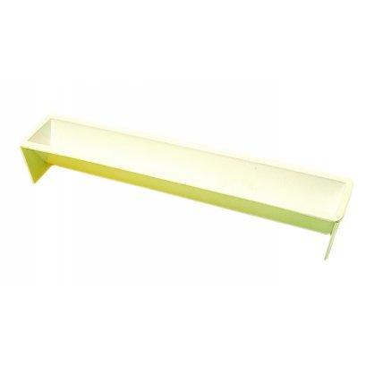 Martellato Journal de Plastique en Forme de Moule à Cake Hémisphère, Blanc, 480 x 65 x 50 mm
