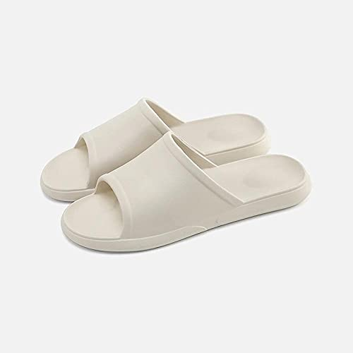 ypyrhh Sandalias Cómodo Casual Zapatos de Playa,Home Couple Slippers, Bathroom Anti-Skating-Card_44-45,Zapatillas Flip Flops Sandal