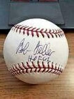 Bob Feller Signed Baseball - 2 OML ! ! HOF 62! - Autographed Baseballs