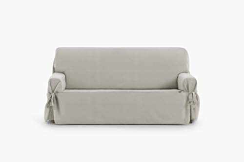 Eysa Levante Funda de sofá, Algodón, Vison, 3 PLAZAS