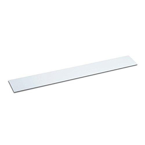 Metalleiste selbstklebend 500x40 mm weiß Haftgrund für Magnete individuelles Magnetboard Geschenkidee