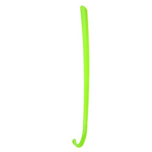 1x Calzador Zapatos De Plástico Calzador Largo Mango Levantador - Verde,