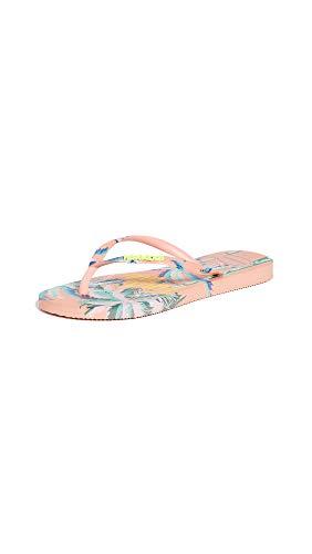 Havaianas Women's Slip-On Flip-Flop, Silk Rose, 11-12