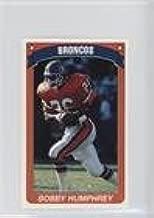 Bobby Humphrey (Football Card) 1990 Panini Album Stickers - [Base] #48