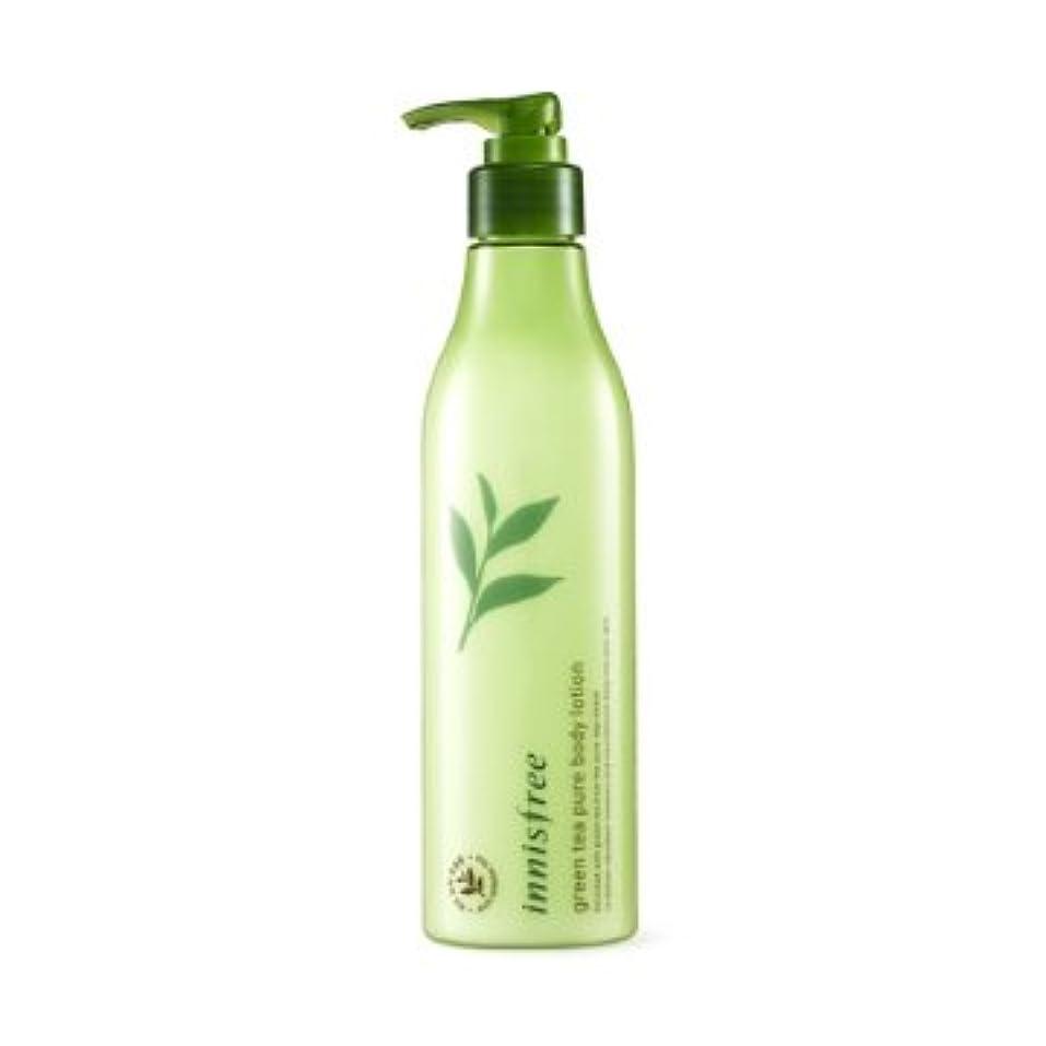 経験的彼自身流体【イニスフリー】Innisfree green tea pure body lotion - 300ml (韓国直送品) (SHOPPINGINSTAGRAM)