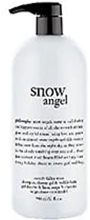 Philosophy Snow Angel Shampoo, Shower Gel & Bubble Bath 32 Oz with Pump
