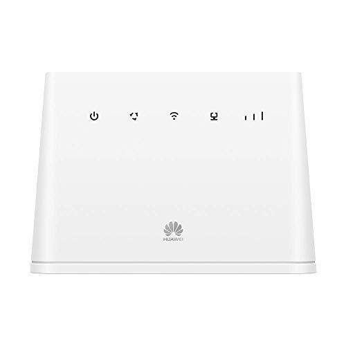 Scopri offerta per Huawei 4G Router Wireless LTE 150 MBps, WiFi Mobile, con 1 Porta GE LAN/WAN, WiFi da 300 MBps di Velocità, Bianco