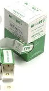 Ec Moore Bc-78-smp Plastic Discs Brass Center 7/8