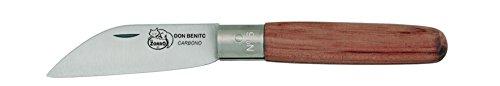 Imex El Zorro TO3714 Couteau pour Coupe Droite Carbon Lame 10 cm