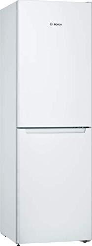 Bosch KGN34NWEAG Serie 2 Freestanding Fridge Freezer, No Frost, 297L capacity, 60cm wide, White