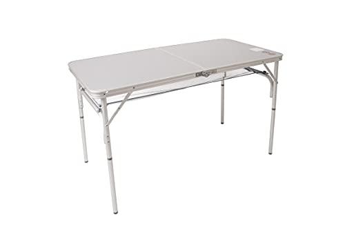 Bo-Camp - Tavolo da campeggio, 120 x 60 cm, in alluminio impermeabile