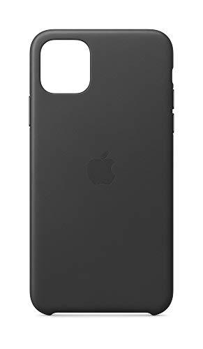 Apple Leder Hülle (für iPhone 11 Pro Max) - Schwarz - 6.5 Zoll