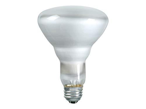 PHILIPS 65W BR-30 Reflector Flood Light Bulb, E26 Medium Base, 620 Lumens, Indoor, 12 Pack