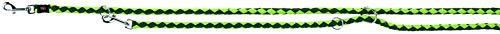 Trixie 143519 Cavo V~Leine, S–M: 2,00 m/ø 12 mm, waldgrün/apfel