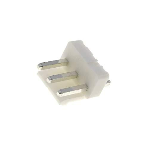 20x NS39-W3P Socket wire-board male PIN3 3.96mm THT NS39 250V 7A tinned NINIGI