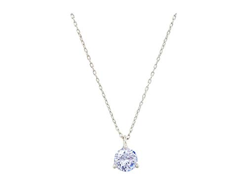 Kate Spade New York Brilliant Statements Mini Trio Prong Pendant Necklace Light Amethyst One Size