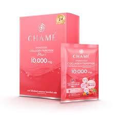 3 boxs.Chame Hydrolyzed Collagen Tripeptide Plus 10 Sachet