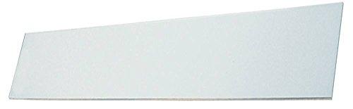 Glasscheibe für Pizzaofen Cuppone EVOLUTION MECHANICAL, EVOLUTION DIGITAL, Mastro CAB0020, CAB0019 rechteckig Breite 93mm