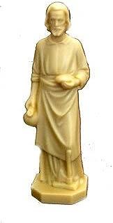 Saint Joseph Home Seller Statue Figurine, 4 Inch